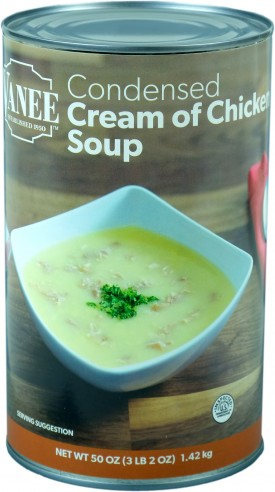 CREAM OF CHICKEN SOUP