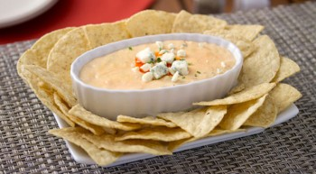 Steverino's Buffalo Cheesy Chicken Dip