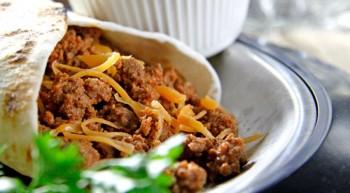 Beefy Taco Wraps
