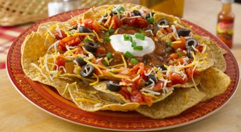 Loaded Chili Nachos