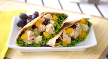 Sunshine Chicken Salad Pockets