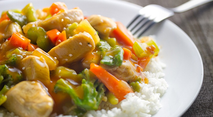 Sweet & Sour Stir Fry