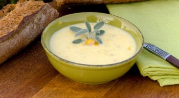 Corn Chowder with Chicken
