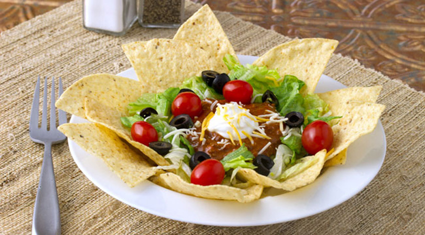 Chili Taco Salad