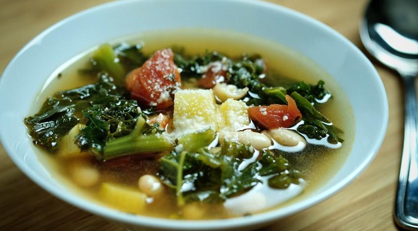 Tuscan Bean & Kale Soup